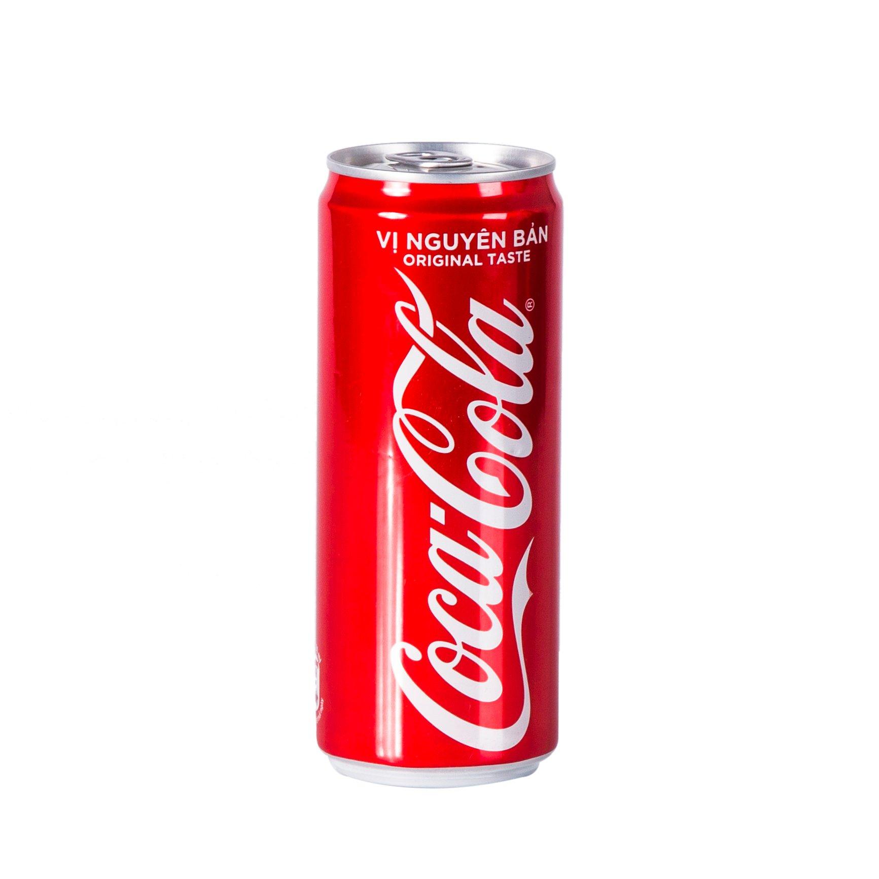 Nước giải khát Coca Cola lon 330ml